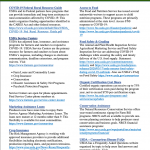 <strong>USDA Resources in Response to COVID-19:</strong>  Fact Sheet for Organic Farms and Businesses